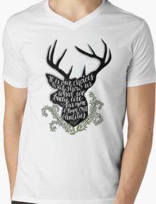 Harry Potter Quote Mens V-Neck T-Shirt