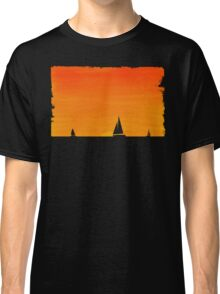 Ships at Sunset Classic T-Shirt