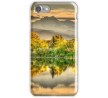Golden Moments, Gilded Dreams iPhone Case/Skin
