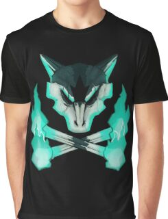 Pokemon - Alolan Marowak Skull Graphic T-Shirt