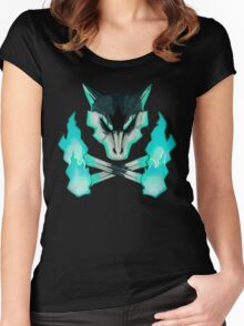 Pokemon - Alolan Marowak Women's Fitted Scoop T-Shirt