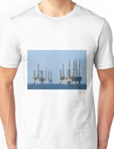 Four Jack Up Platforms Unisex T-Shirt