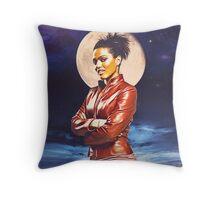Martha Jones Throw Pillow