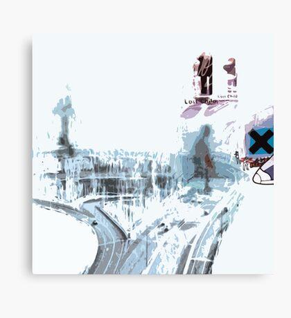 Radiohead OK Computer Stylized Canvas Print