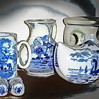 Blue Delft by Nadya Johnson