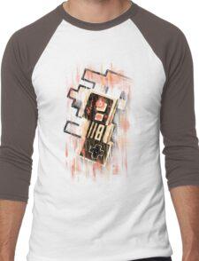 Blurry NES Men's Baseball ¾ T-Shirt