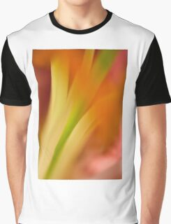 Flower Abstract Graphic T-Shirt