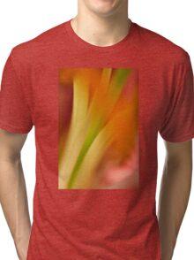 Flower Abstract Tri-blend T-Shirt