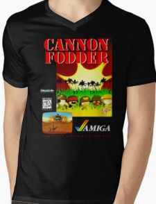 Cannon Fodder Mens V-Neck T-Shirt