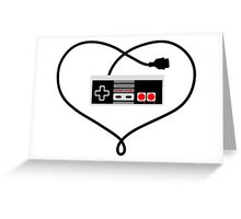 Love Nintendo NES Greeting Card