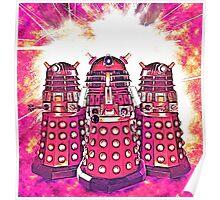 Radiant Daleks Poster