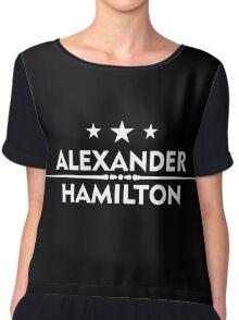 hamilton alexander  star Chiffon Top