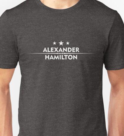 hamilton alexander  star Unisex T-Shirt