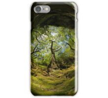 Ness Glen, Mystical Irish Wood iPhone Case/Skin