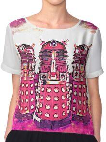 Radiant Daleks Chiffon Top