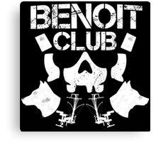 Benoit Club Canvas Print