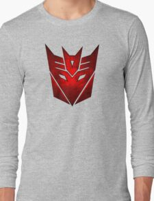 Decepticon RED Long Sleeve T-Shirt