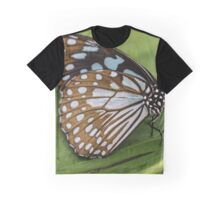 Butterfly - Brown Graphic T-Shirt