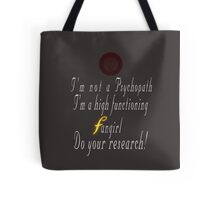 Fangirl firefly Tote Bag
