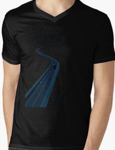Through the Construct of Night Mens V-Neck T-Shirt