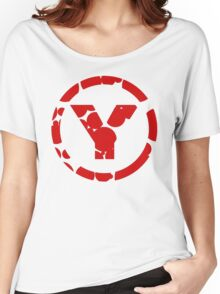 prYda red Women's Relaxed Fit T-Shirt
