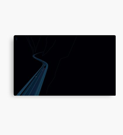 Through the Construct of Night Canvas Print