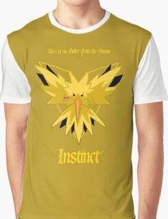 Team Instinct - Zapdos Graphic T-Shirt