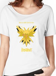 Team Instinct - Zapdos Women's Relaxed Fit T-Shirt