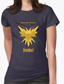 Team Instinct - Zapdos Womens Fitted T-Shirt