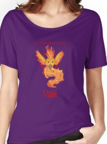 Team Valor - Moltres Women's Relaxed Fit T-Shirt