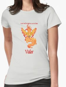 Team Valor - Moltres Womens Fitted T-Shirt