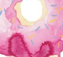 Watercolor Donut  Sticker