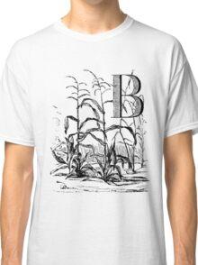 Garden Alphabet Letter B Classic T-Shirt