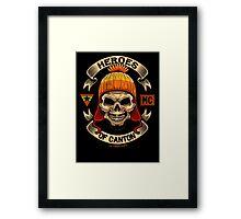 Heroes of Canton Bike Club Framed Print
