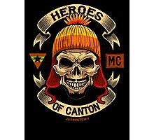 Heroes of Canton Bike Club Photographic Print