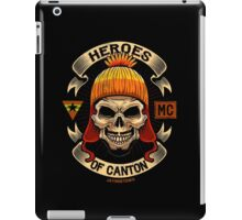 Heroes of Canton Bike Club iPad Case/Skin