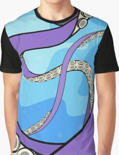 Octopus Tentacles Illustration Graphic T-Shirt