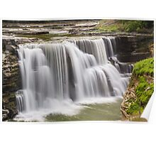 Lower Falls at Letchworth Poster