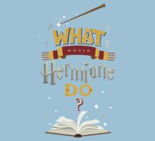 What Would Hermione Do? Kids Tee