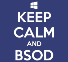 Keep calm and BSOD T-Shirt