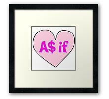As If Framed Print