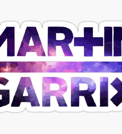martin garrix galaxy Sticker
