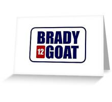 BRADY *12* GOAT Greeting Card