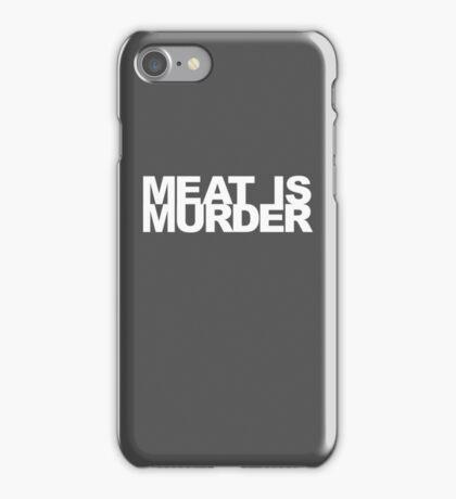 Meat Is Murder iPhone Case/Skin