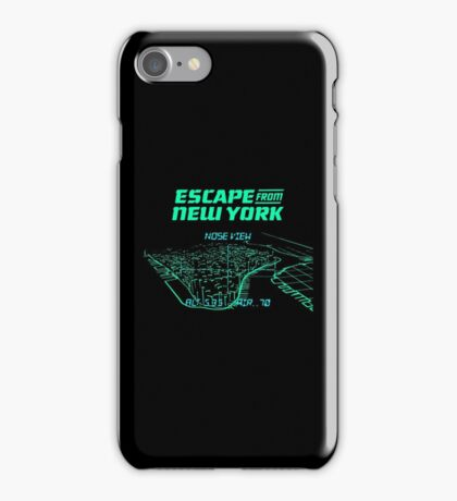 Escape from New York Manhattan mission iPhone Case/Skin