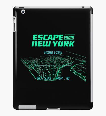 Escape from New York Manhattan mission iPad Case/Skin
