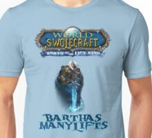 Barthas Manylifts, The Lift King Unisex T-Shirt