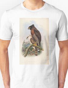 Birds of Asia John Gould 1883 V1 V7 009 Spilornis Rufipectus Unisex T-Shirt