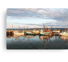 Digby Harbour Canvas Print