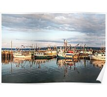 Digby Harbour Poster